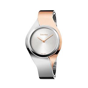 Calvin Klein Senses ladies' two colour bracelet watch - Product number 2951134