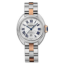 Cartier Clé Ladies stainless 31mm steel bracelet watch - Product number 2951290