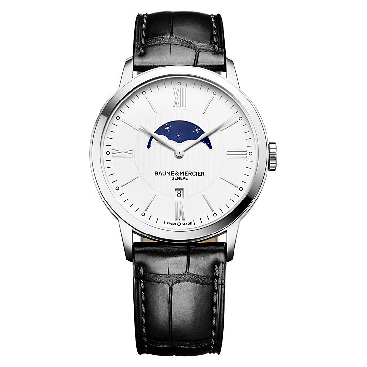 Baume & Mercier Classima men's stainless steel watch - Product number 2951339
