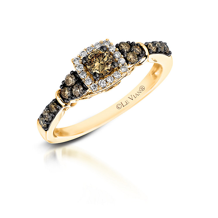 Le Vian 14ct Honey Gold Chocolate Diamond ring - Product number 2953838