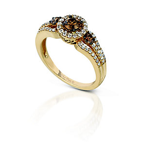 Le Vian® 14ct Honey Gold™ & 76pt Vanilla Diamond™ ring - Product number 2955660