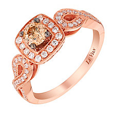 Le Vian 14ct Strawberry Gold Vanilla Diamond ring - Product number 2956039