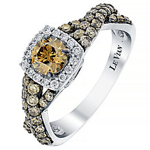 Le Vian 14ct Vanilla Gold & Chocolate Diamond ring - Product number 2956462