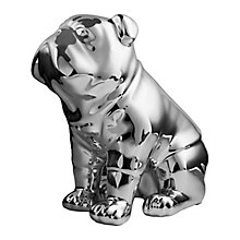 Silver Toned Bulldog Money Box - Product number 2958635
