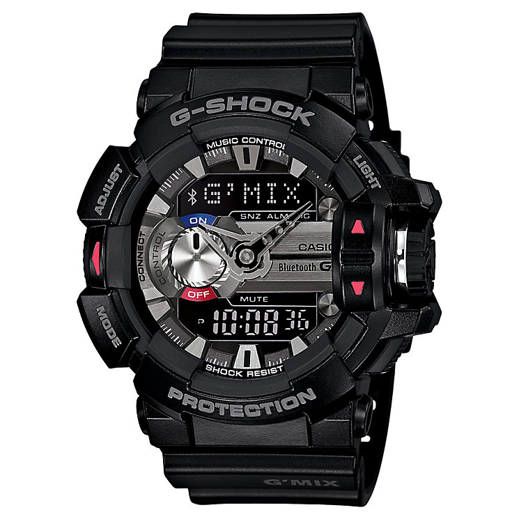 Casio G-Shock G'MIX men's stainless steel black strap watch - Product number 2958708