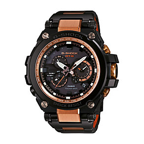 Casio G-Shock men's rose gold-plated black strap watch - Product number 2958767
