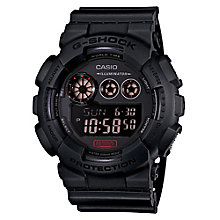 Casio G-Shock men's stainless steel black strap watch - Product number 2958791