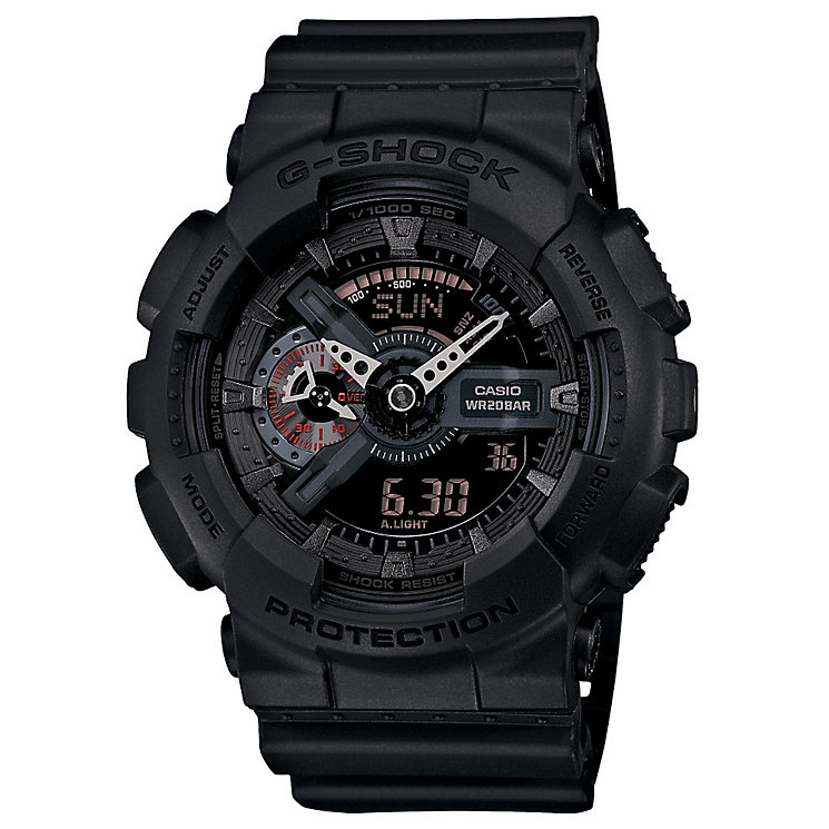 Casio G-Shock men's stainless steel black strap watch - Product number 2958813