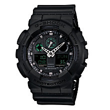 Casio G-Shock men's stainless steel black strap watch - Product number 2958821