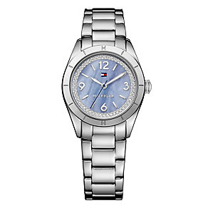 Tommy Hilfiger Ladies' Blue Dial & Stainless Steel Watch - Product number 2958864
