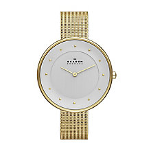 Skagen Gitte Ladies' Gold Tone Bracelet Watch - Product number 2958953