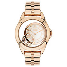 Storm Ladies Crystaco Rose Gold Plate Crystal Set Watch - Product number 2961814