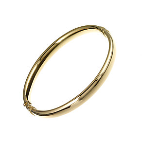 9ct yellow gold bangle - Product number 2963434