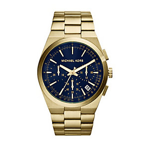 Michael Kors Channing men's gold-plated bracelet watch - Product number 2967383