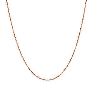 "9ct Rose Gold 16"" Spiga Chain - Product number 2968428"