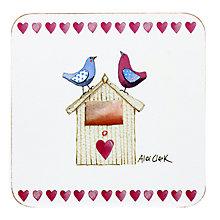 Alex Clark Love Birds Coaster - Product number 2969114