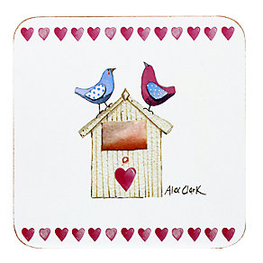 Alex Clark Love Birds Coaster - Product number 2969114