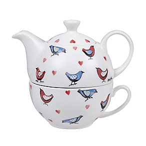 Alex Clark Love Birds Tea For One Teapot & Teacup Set - Product number 2969122