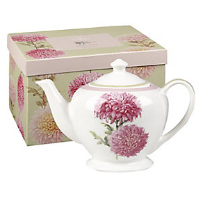Dorothy Martin RHS Flowers Fine China Teapot - Product number 2969157