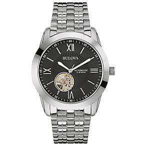 Bulova Men's Stainless Steel Bracelet Strap Watch - Product number 2974320