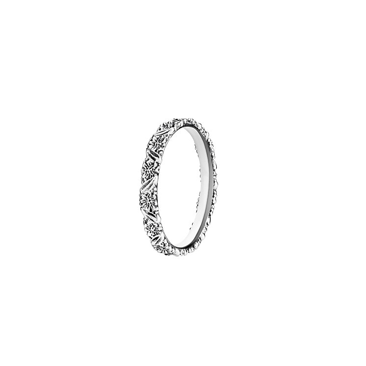 Chamilia Harmony light antique sterling silver band medium - Product number 2982463