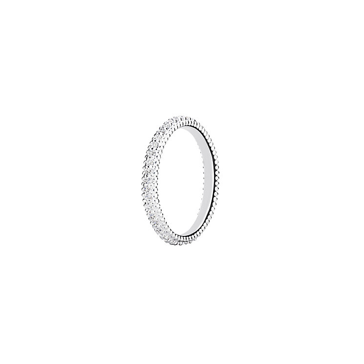 Chamilia Swarovski ZirconiaEternity Stacking Ring Medium - Product number 3027384