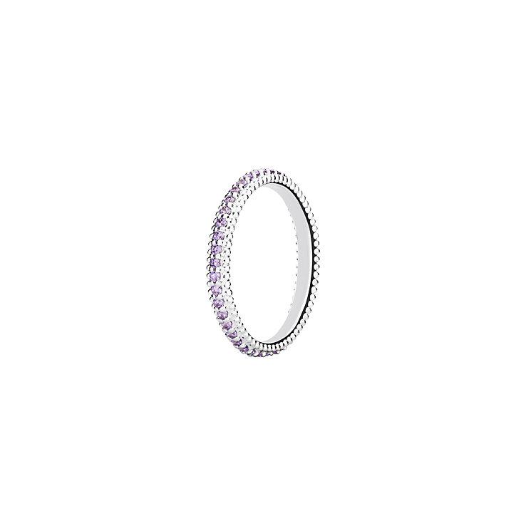 Chamilia Swarovski ZirconiaEternity Stacking Ring Medium - Product number 3027481