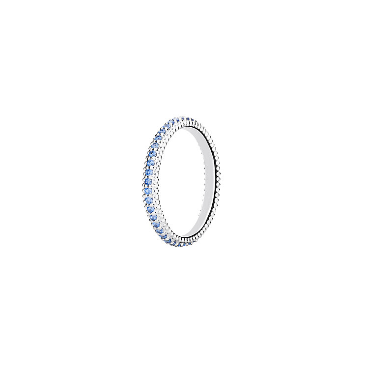 Chamilia Swarovski ZirconiaEternity Stacking Ring Medium - Product number 3027538