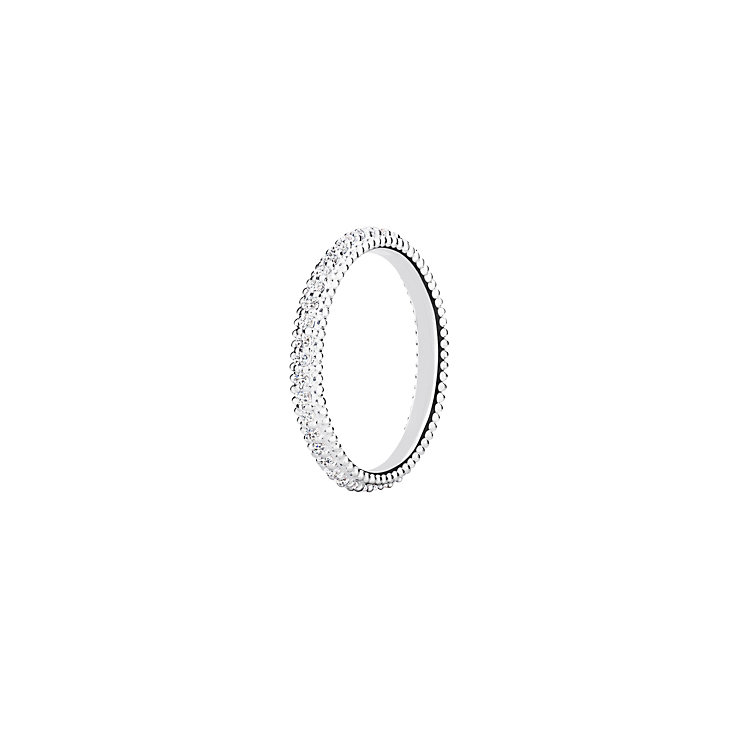 Chamilia Eternity sterling silver white zirconia ring large - Product number 3027635