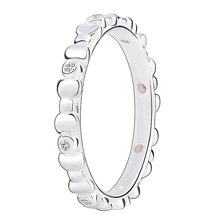 Chamilia Swarovski ZirconiaAffinity Stacking Ring Medium - Product number 3027708