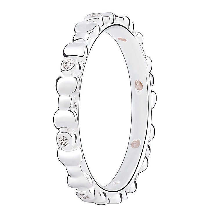 Chamilia Swarovski ZirconiaAffinity Stacking Ring Large - Product number 3027732