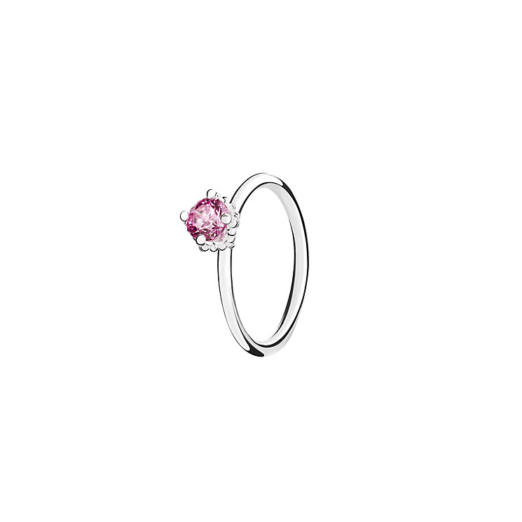 Chamilia Pink Swarovski ZirconiaDiva Stacking Ring Small - Product number 3028909