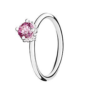 Chamilia Pink Swarovski Zirconia Diva Stacking Ring Small - Product number 3028909