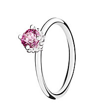 Chamilia Pink Swarovski ZirconiaDiva Stacking Ring Large - Product number 3028933
