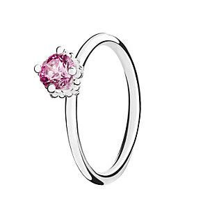 Chamilia Pink Swarovski ZirconiaDiva Stacking Ring Large - Product number 3028933