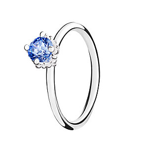 Chamilia Blue Swarovski Zirconia Diva Stacking Ring Small - Product number 3028976