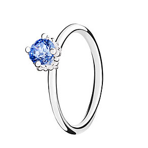 Chamilia Blue Swarovski Zirconia Diva Stacking Ring Medium - Product number 3029204