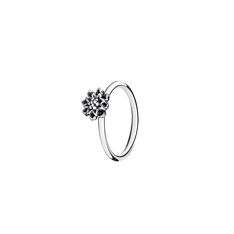 Chamilia Sterling Silver Bloom Flower Stacking Ring Small - Product number 3029379