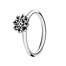 Chamilia Sterling Silver Bloom Flower Stacking Ring Large - Product number 3029387