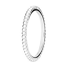 Chamilia Silver One Thousand Wishes Stacking Ring Small - Product number 3029441