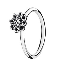 Chamilia Sterling Silver Bloom Flower Stacking Ring Medium - Product number 3029557