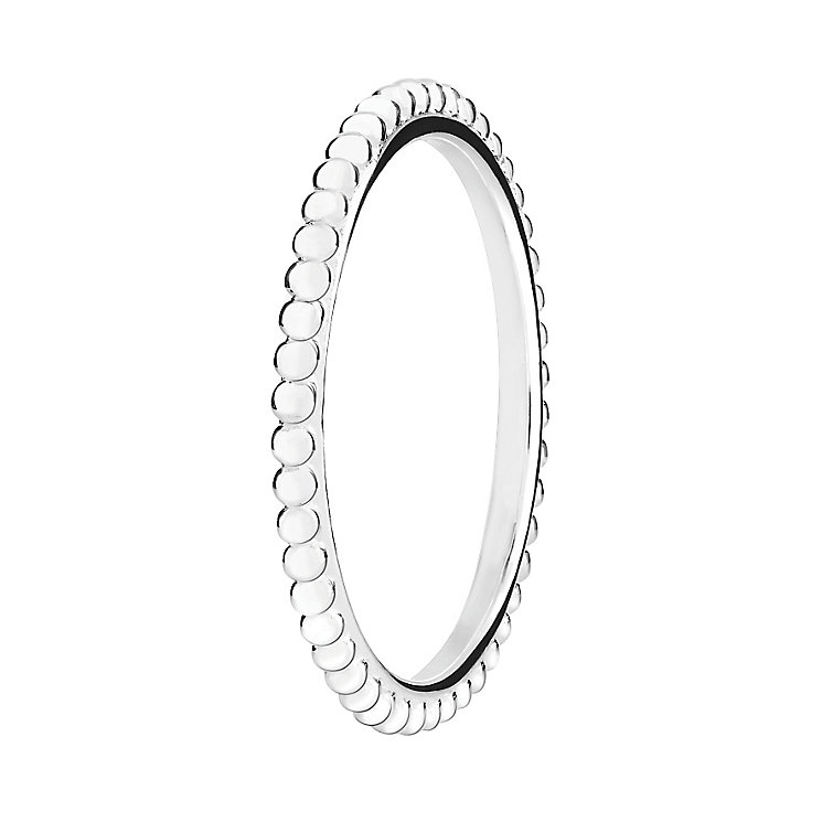 Chamilia Silver One Thousand Wishes Stacking Ring Large - Product number 3029573