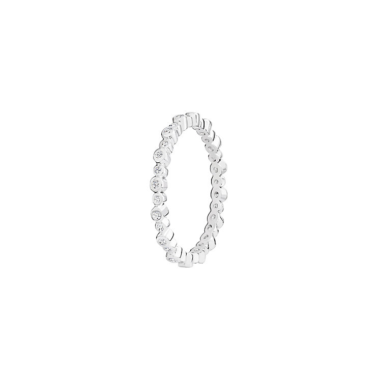 Chamilia Swarovski Zirconia Infinity Stacking Ring Small - Product number 3029700