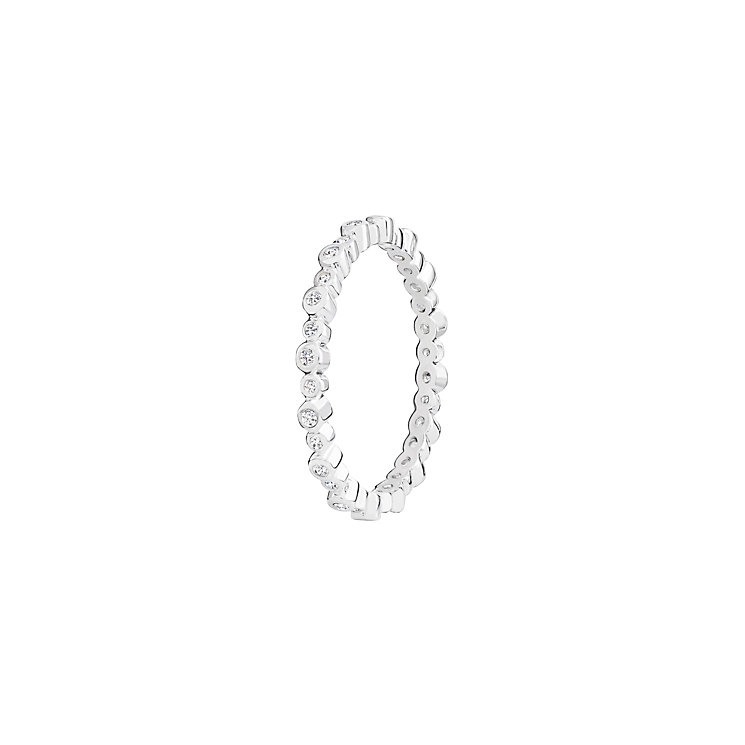 Chamilia Swarovski Zirconia Infinity Stacking Ring Medium - Product number 3029719