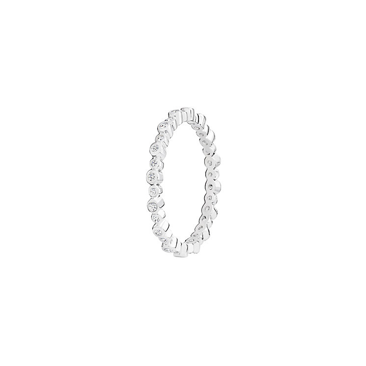 Chamilia Swarovski Zirconia Infinity Stacking Ring Large - Product number 3029727