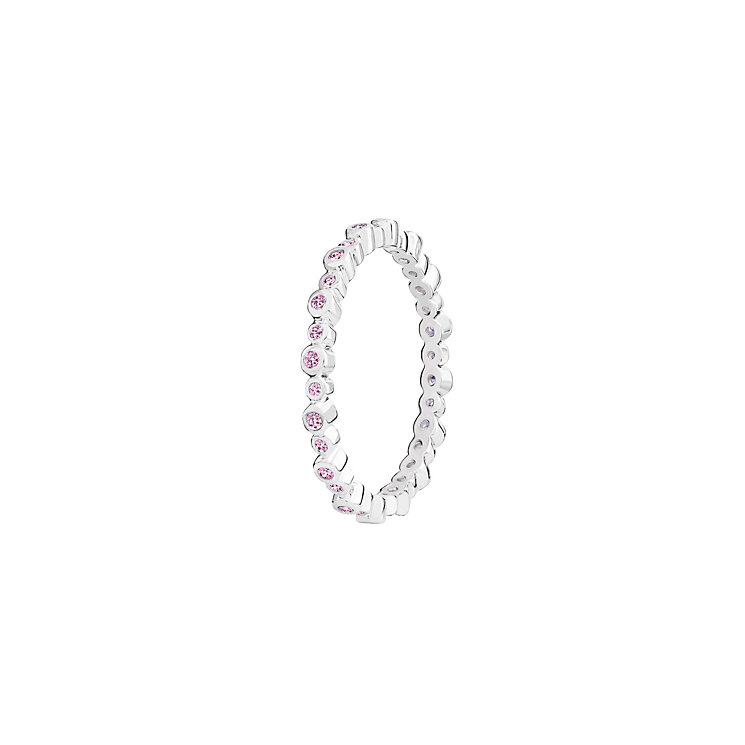 Chamilia Swarovski Zirconia Infinity Stacking Ring Medium - Product number 3029743