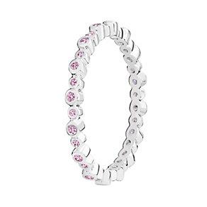 Chamilia Swarovski Zirconia Infinity Stacking Ring Medium - Product number 3029743