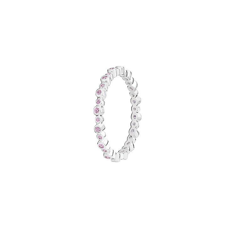 Chamilia Swarovski Zirconia Infinity Stacking Ring Large - Product number 3029751