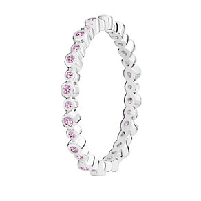 Chamilia Swarovski Zirconia Infinity Stacking Ring Large - Product number 3029751