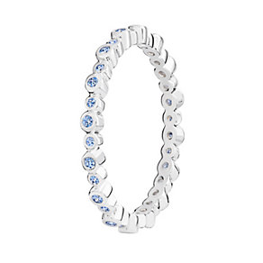 Chamilia Swarovski Zirconia Infinity Stacking Ring Medium - Product number 3029786